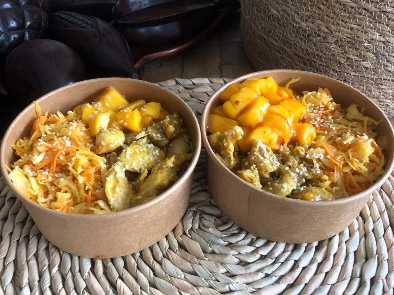 Poké Bowl Poulet Curry